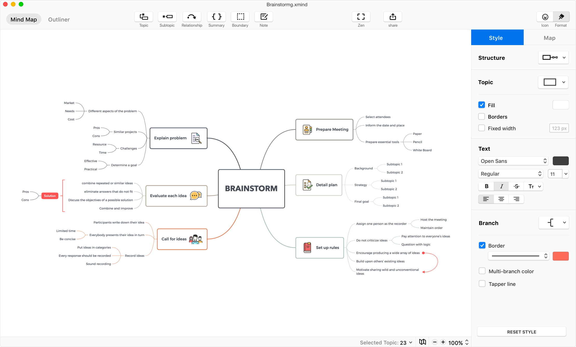 Download Xmind Mind Mapping Software