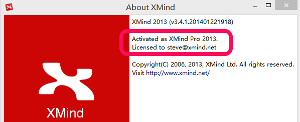xmind 7 pro license key