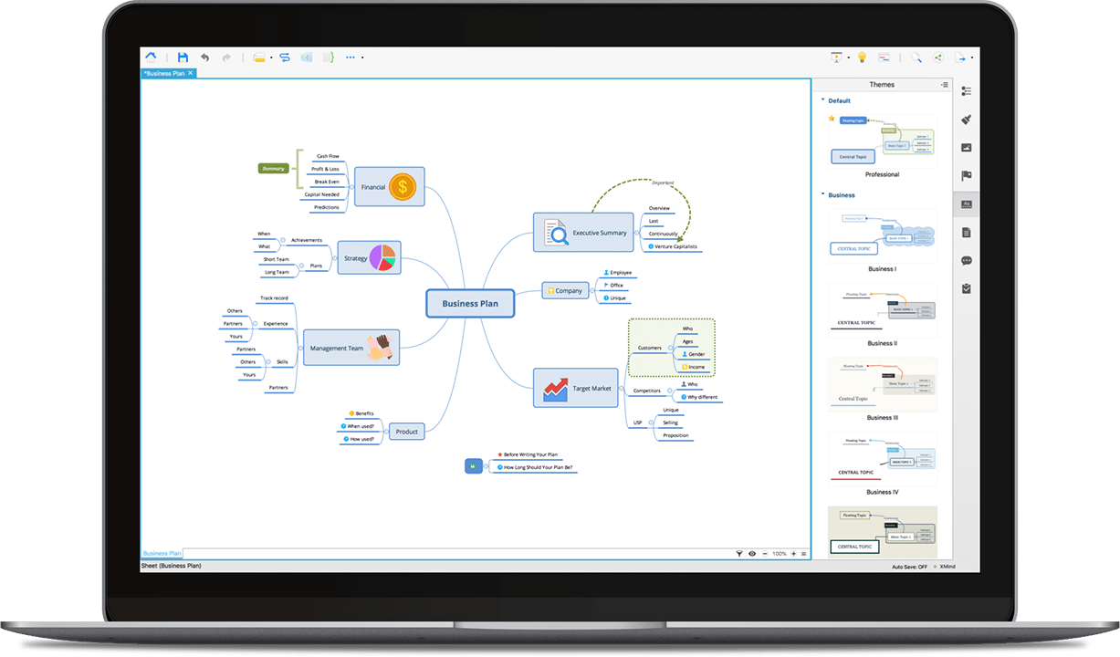 XMind - Mind Mapping Software 8 Pro v3.7.8.201807240049